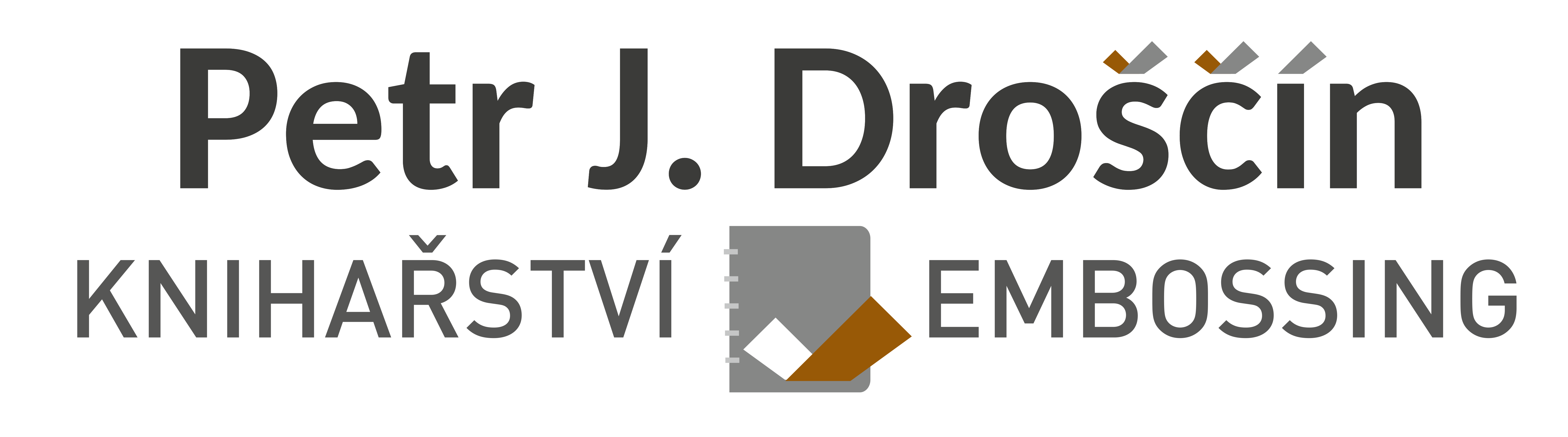 Knihařství - Embossing Petr J. Droščín